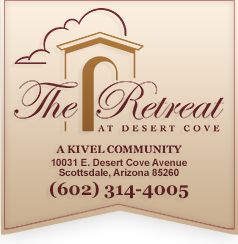 the retreat banner